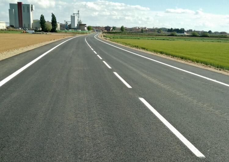 Oberta al trànsit la carretera de Linyola a Bellcaire d'Urgell