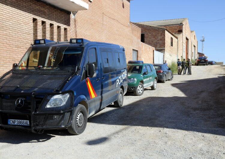 Almenys quatre detinguts a Bell-lloc d'Urgell en una operació policial internacional contra el tràfic de silurs