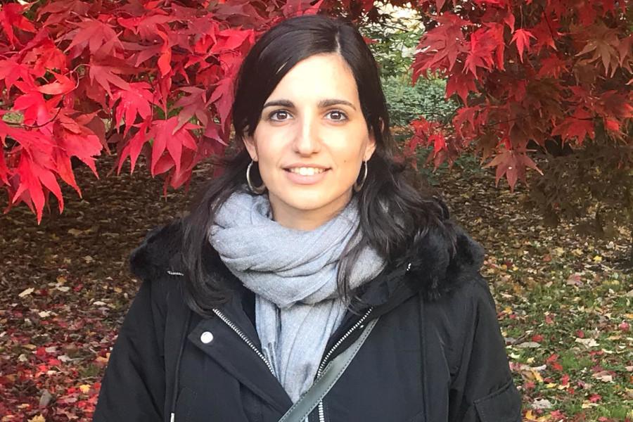 Pla americà on es pot veure la lingüista lleidatana Ares Llop, guanyadora de la 6a edició de Premi Joan Solà. (Horitzontal)