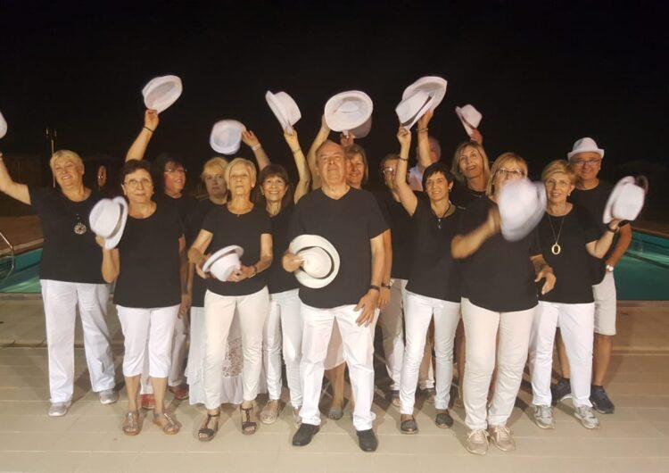 El grup de ball en línia de Vila-sana celebra la seva tradicional trobada