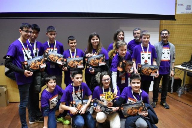 Un equip de La Salle Mollerussa, a la final estatal de la First Lego League