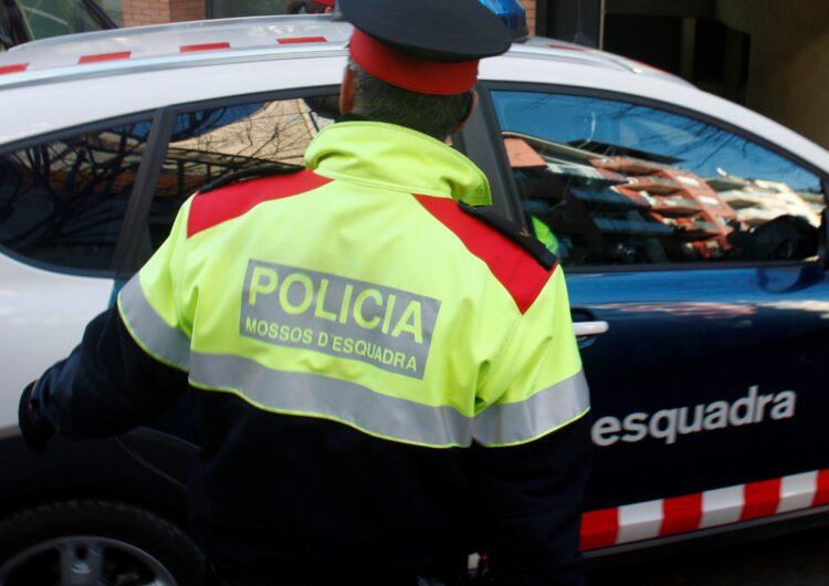 Els Mossos d'Esquadra detenen un lladre multireincident per un robatori en un domicili del Pla d'Urgell