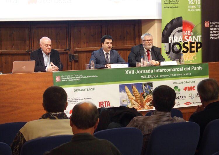 La XVII Jornada intercomarcal del panís inaugura les jornades tècniques de la 146a Fira de Sant Josep