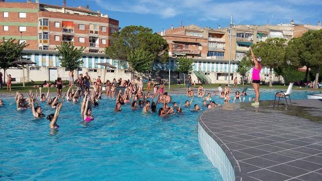 Imatge d'arxiu de la piscina municipal (Autor: Aj. Mollerussa)
