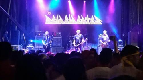Imatge d'un concert de Reincidentes. FOTO: Ajuntament de Vila-sana.