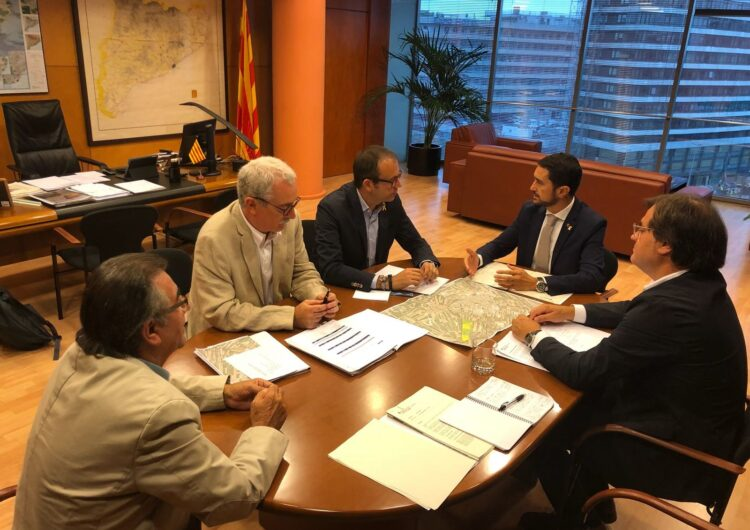La Generalitat i l'Ajuntament de Mollerussa acorden que el govern assumirà el cost de l'enderroc del Grup Sant Isidori