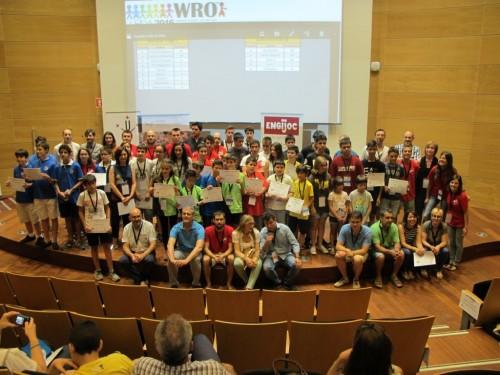 Els equips que van participar l'any passat. FOTO: EPS-UdL