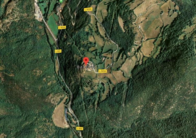 Un terratrèmol de 3,8 graus a l'escala de Richter a Osca es deixa notar a les comarques de Lleida