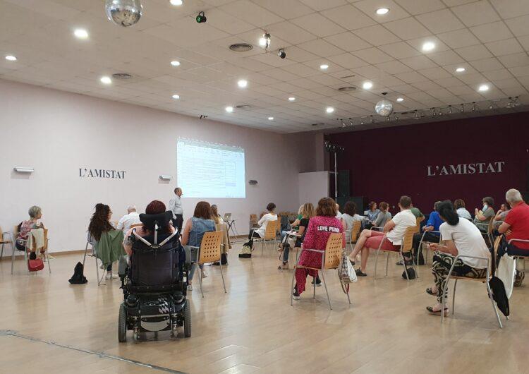 Una trentena d'agents socials presenten propostes per un Pla d'Acció dins el programa (Re)ActivemMollerussa
