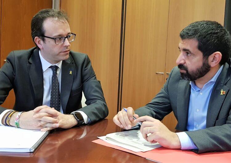 Marc Solsona demana a la Generalitat desencallar l'obertura d'una oficina del SOC a Mollerussa