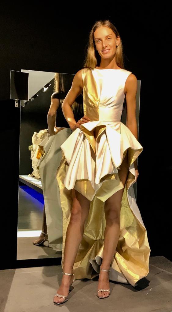 vestit Miquel Suay model Eugènia Piqué
