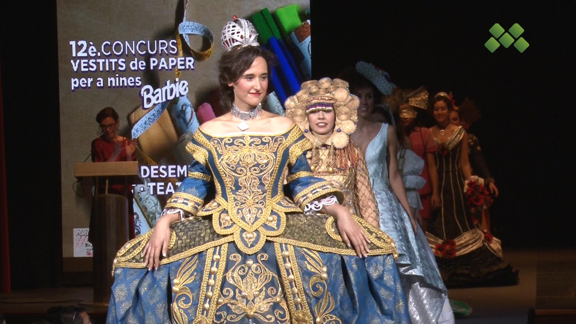 Una setantena de creacions desfilaran al 52è Concurs Nacional de Vestits de Paper a Mollerussa