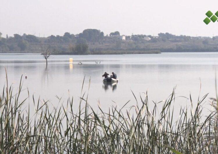 Comença el buidatge parcial de l'estany d'Ivars i Vila-sana per millorar la qualitat de l'aigua