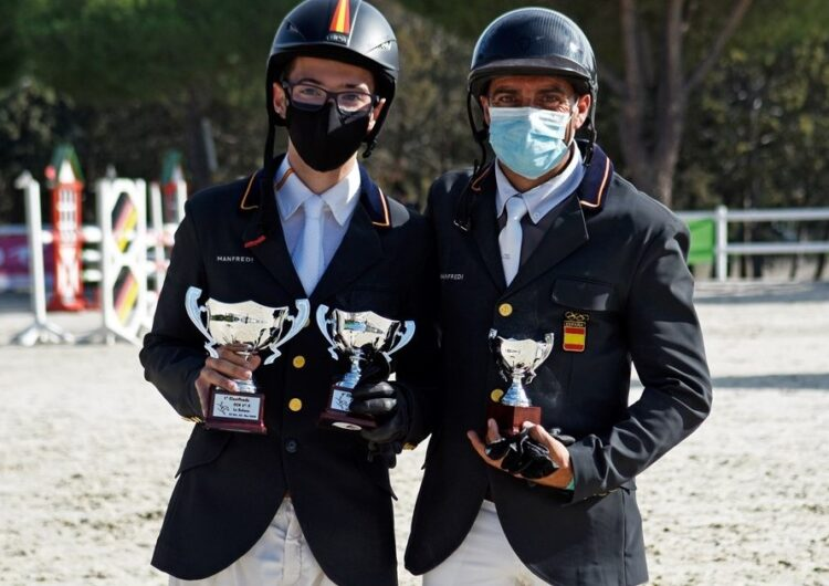Marçal Piró revalida el Campionat d'Espanya de Concurs Complet de categoria juvenil