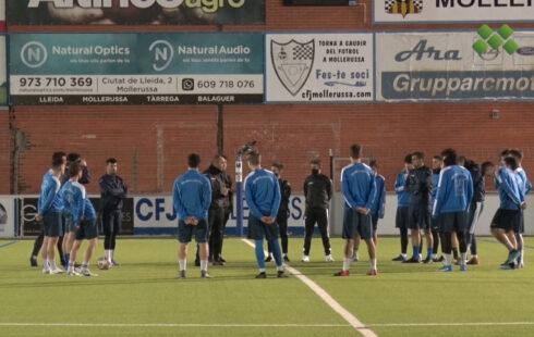 El CFJ Mollerussa prepara la represa de la competició malgrat que el seu rival no té intenció de jugar