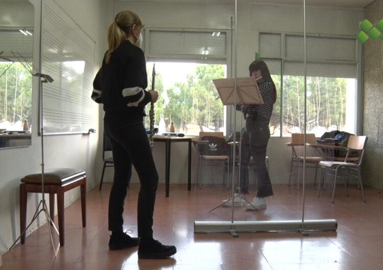 L'Escola Municipal de Música de Mollerussa reprèn les classes presencials després de gairebé dos mesos