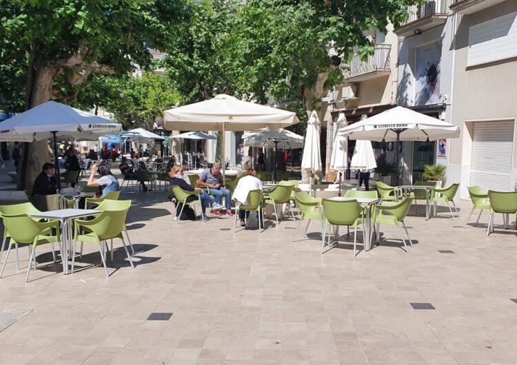L'Ajuntament de Mollerussa no cobrarà la taxa de terrasses als establiments de restauració durant el 2021