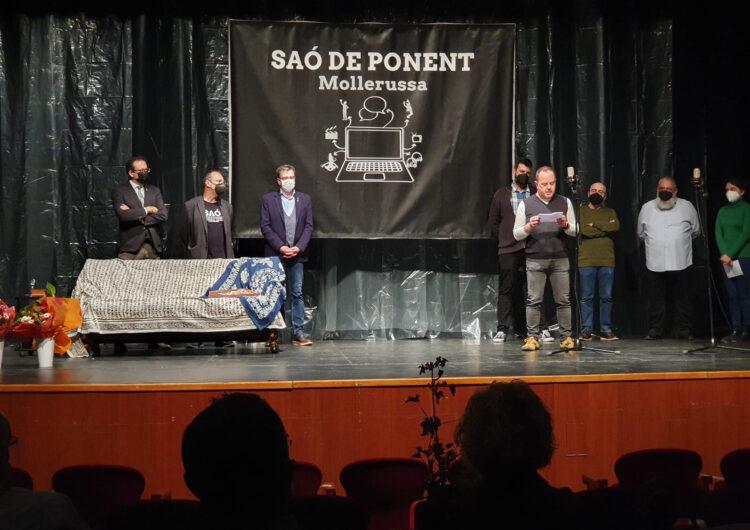 Xavier Zanuy, guanyador del 5è Premi Saó de Ponent de textos teatrals