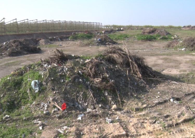Mollerussa tancarà un terreny municipal de la Serra per evitar-hi nous abocaments de residus