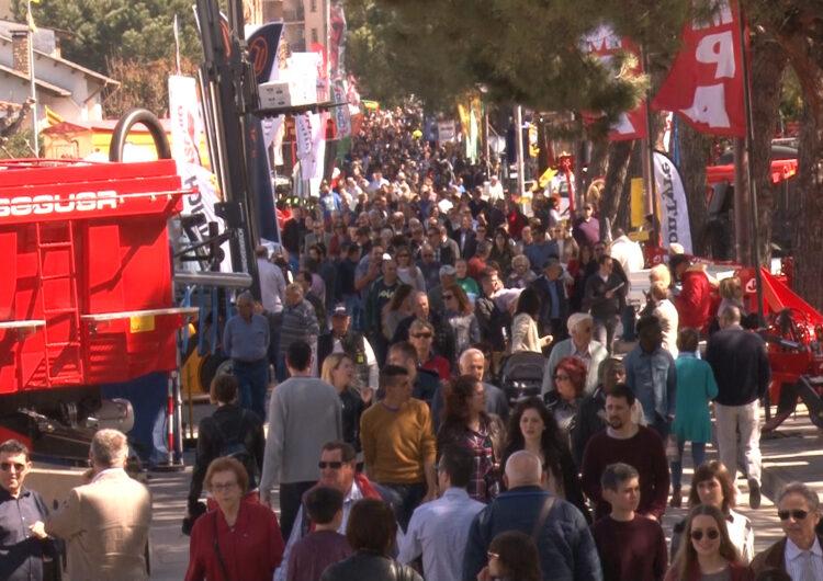 Institucions i associacions professionals posen en valor la Fira de Sant Josep en un acte de Fira de Mollerussa