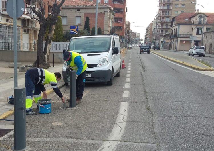 Restriccions en la mobilitat dilluns i dimarts vinent per millores a l'N-II a Mollerussa