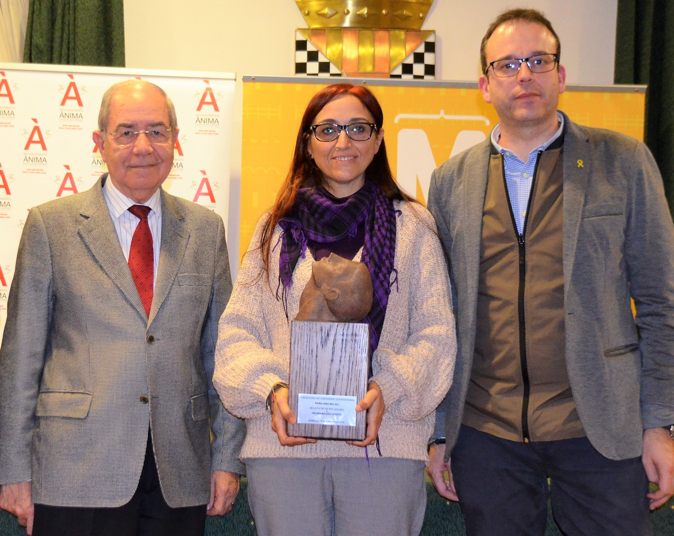 Mollerussa se suma a la campanya de suport a l'activista Helena Maleno