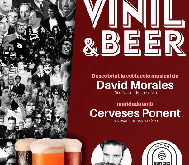 Pla Sonor maridarà vinils i cervesa a Bellvís amb Vinil&Beer