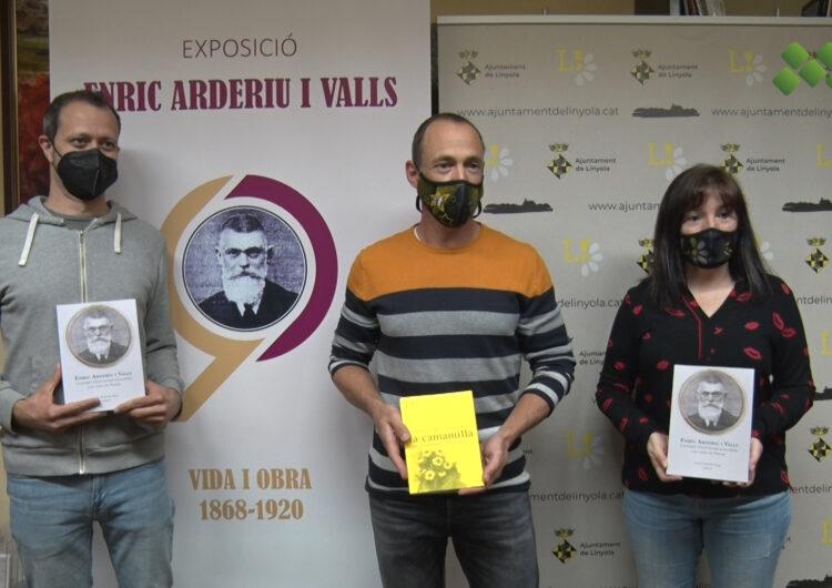 Llibre per divulgar la vida i obra del linyolenc Enric Arderiu i Valls