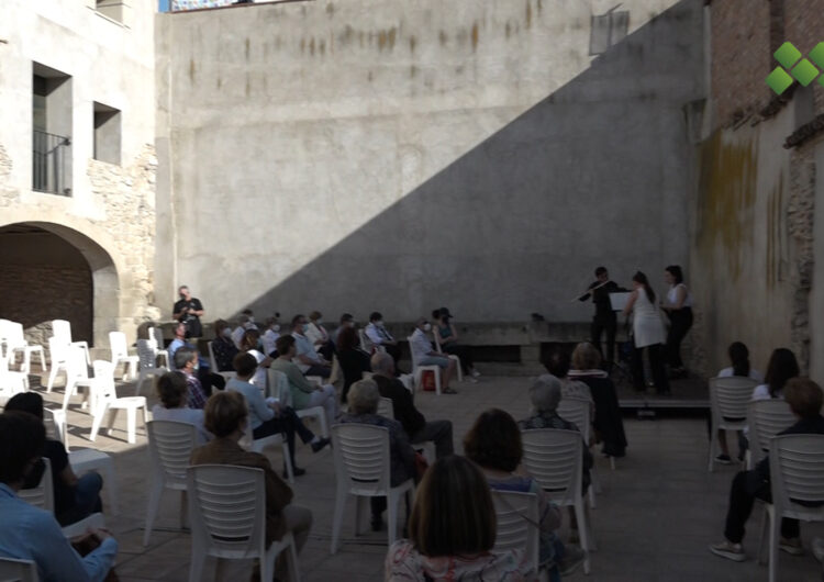 Cal Jaques acull l'estrena del II Cicle de Joves Intèrprets de l'Associació de Música de Mollerussa