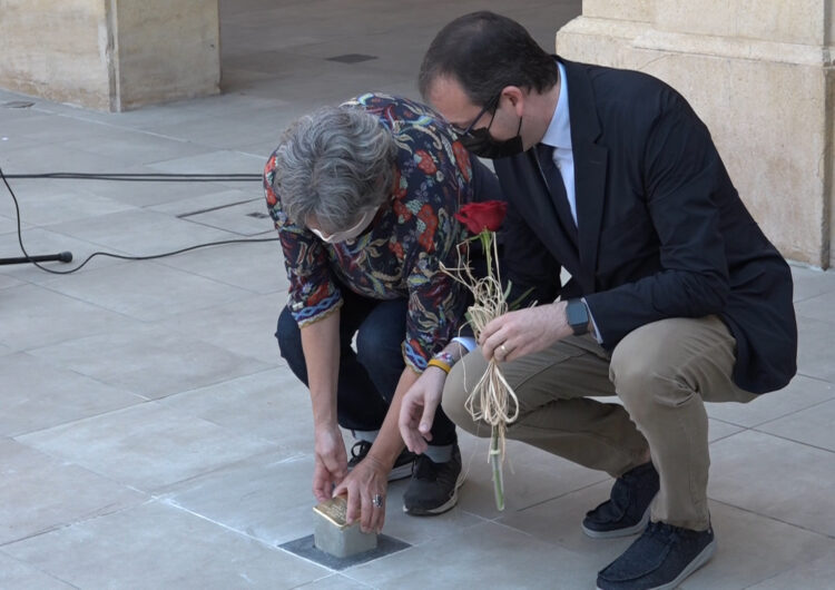 Homenatge als mollerussencs Josep Torres Tribó i Ramon Rocaspana Duart