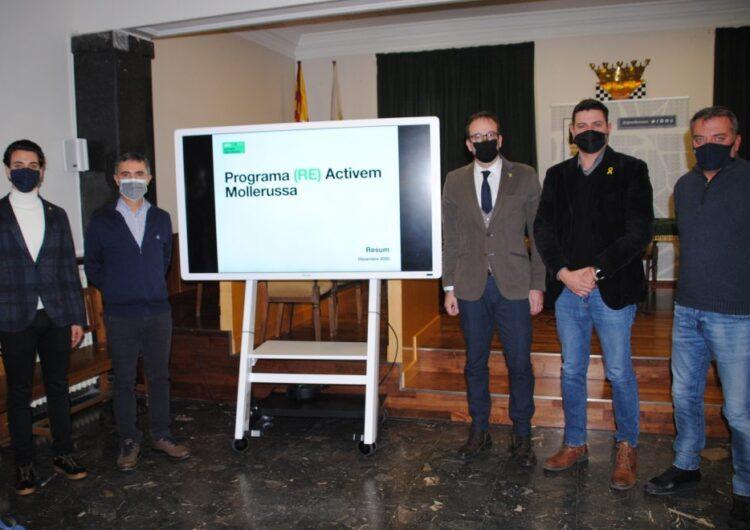 Mollerussa destina 40.000€ per ajudar prop de 300 empreses locals i 60.000 més per fomentar l'ocupació
