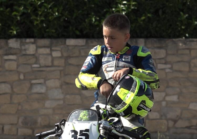 Somiant amb disputar el Mundial de motociclisme