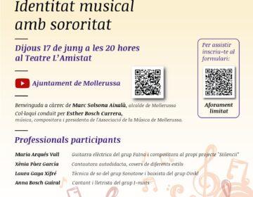 La identitat musical amb sororitat tanca el cicle 'Amb veu de dona' de Mollerussa
