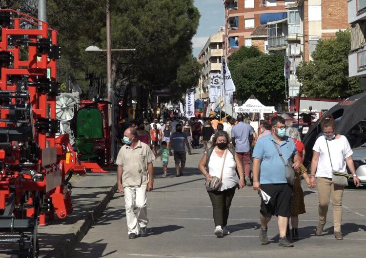 La Fira de Sant Josep de Mollerussa tanca amb 74.000 visitants en tres dies