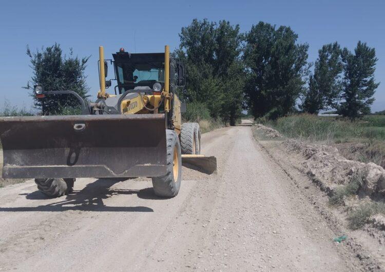 Bellvís arranja camins del terme municipal