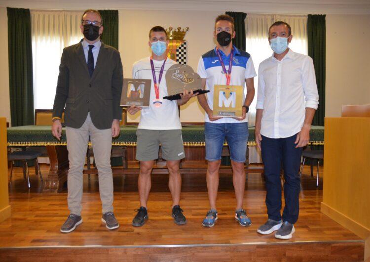 L'Ajuntament homenatja l'Arnau Monné, atleta format als Xafatolls, per l'èxit als campionats europeus