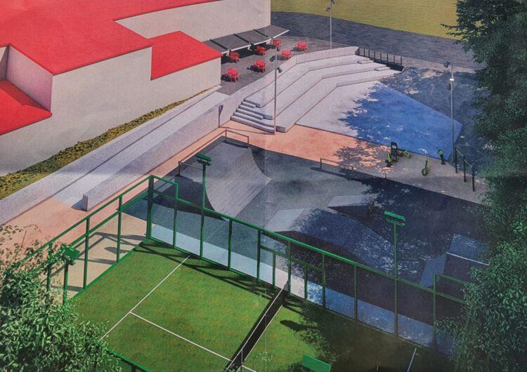 Vila-sana completa una gran zona esportiva i cultural al centre del municipi