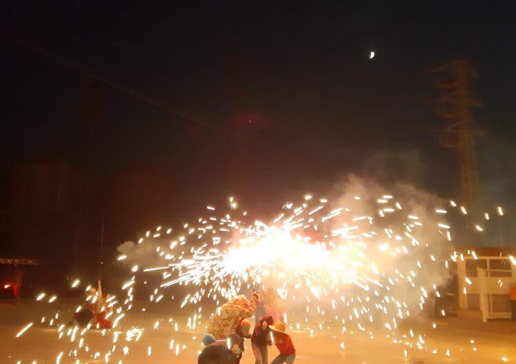 Bellvís celebra les festes de la Mare de Déu d'agost amb correfoc i actuacions musicals