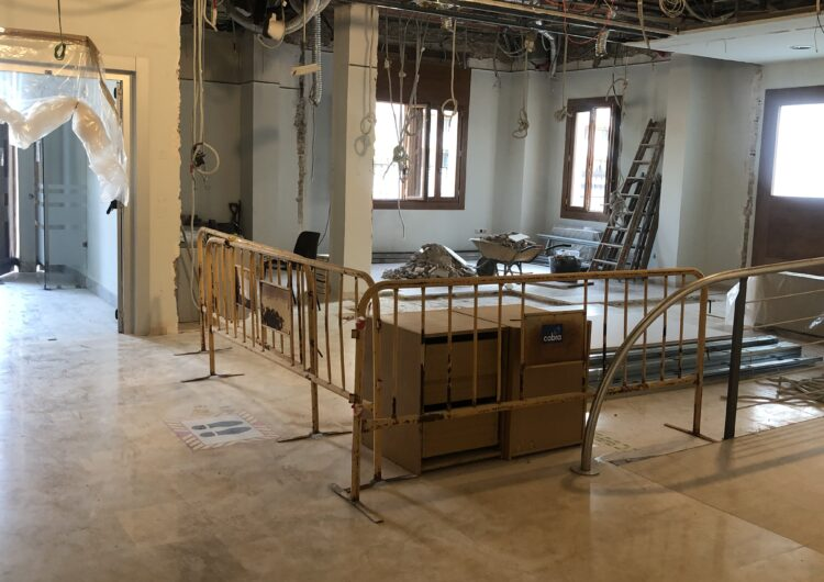 Inicien les obres de millora a l'edifici del Consell Comarcal del Pla d'Urgell