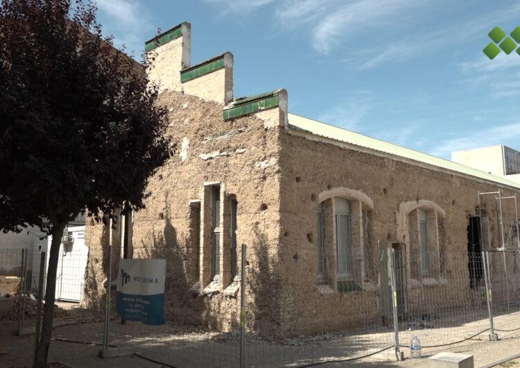 Obres per convertir les escoles velles d'Ivars d'Urgell en la nova seu de l'ajuntament