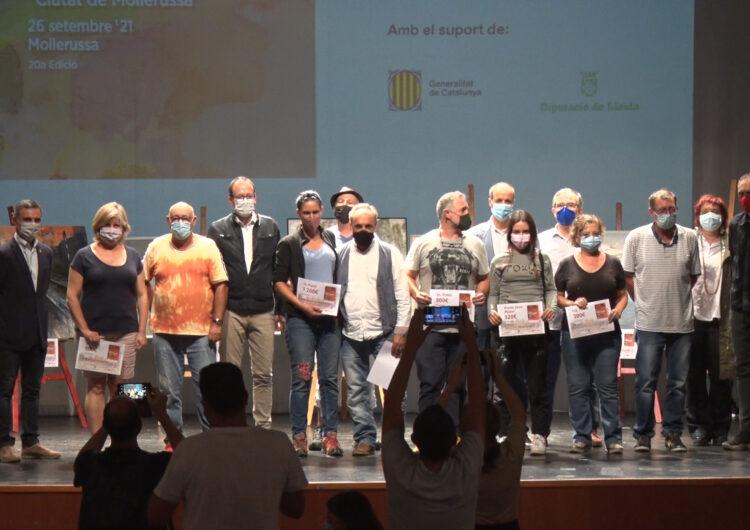 L'obra d'Aida Mauri guanya la 20a edició del Concurs de Pintura Ràpida de Mollerussa