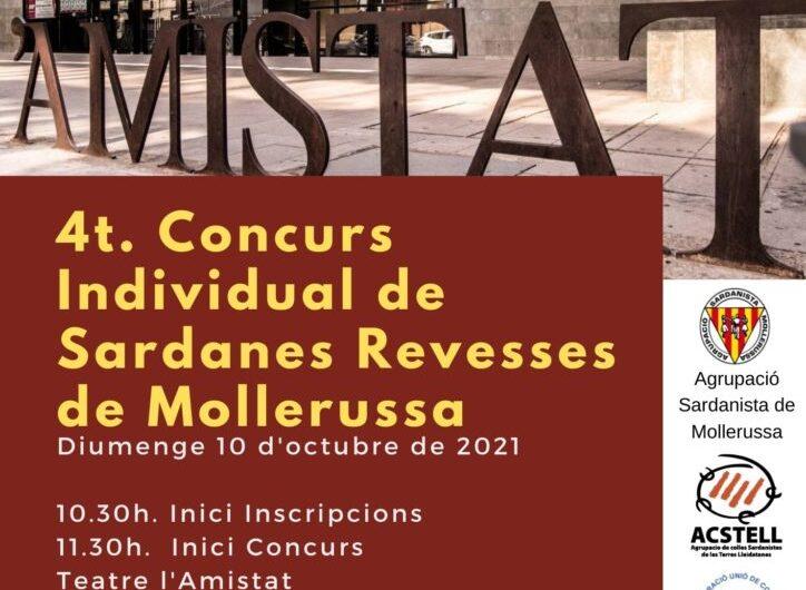 Quart Concurs Individual de Sardana Revessa a Mollerussa