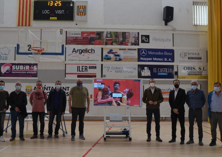 Mollerussa se suma a EsportPlus.TV amb 4 càmeres en instal·lacions esportives per difondre en directe partits