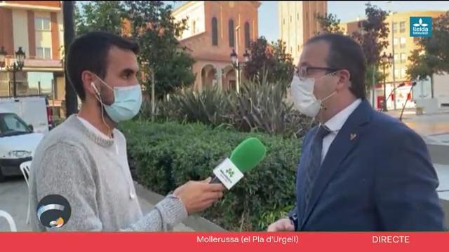 Connecta Lleida Pirineus: Mollerussa ret homenatge a les víctimes de la Covid-19