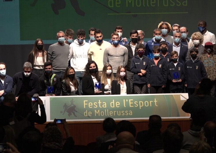 Mollerussa reconeix els mèrits dels seus esportistes i la tasca dels clubs en la Festa de l'Esport