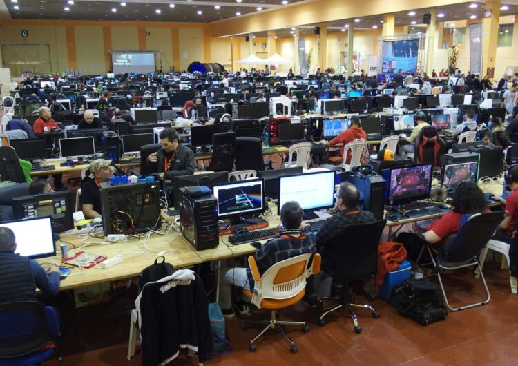 La Mollerussa Lan Party recupera el format presencial limitant el nombre d'inscrits a 300