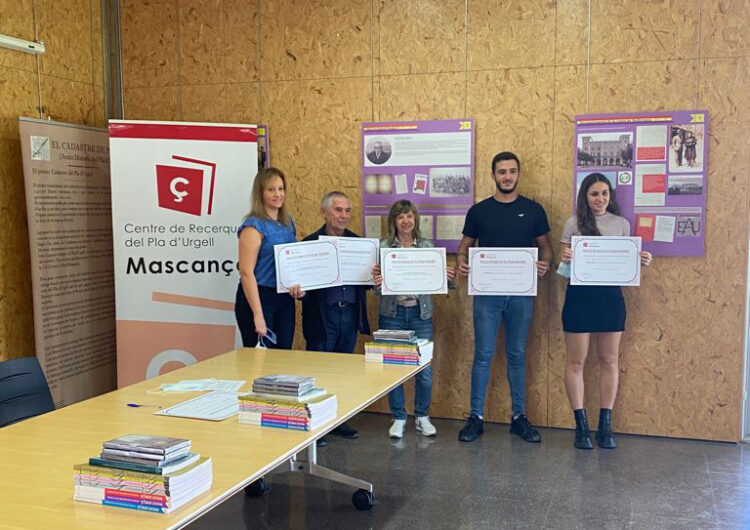 Mascançà premia els millors treballs de recerca de batxillerat basats en el Pla d'Urgell